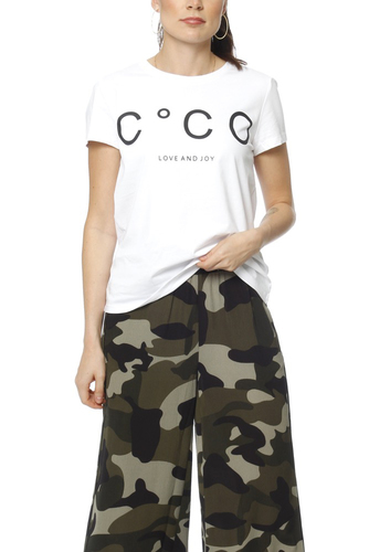 CO'COUTURE Coco Signature Tee X83 White
