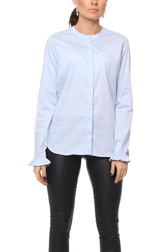 Mos Mosh MATTIE SHIRT LIGHT BLUE