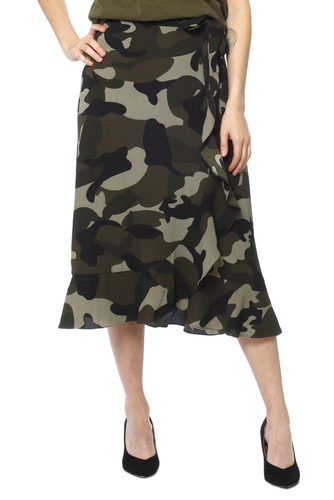 CO'COUTURE Navaeh Camo Skirt New Army