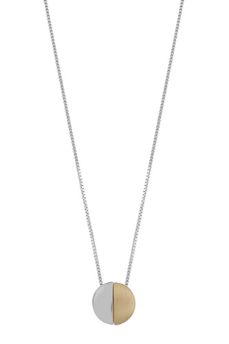 Snö of Sweden BOOGIE SMALL PENDANT 38 SILVER/GOLD