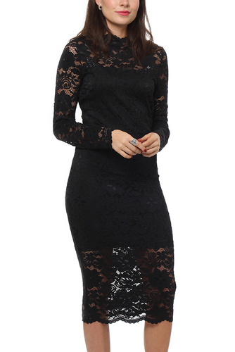 Vila VIGRIT L/S DRESS BLACK