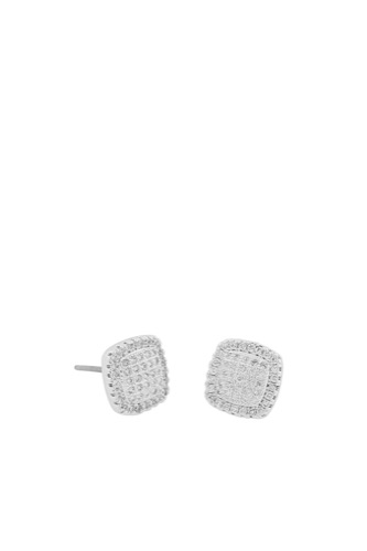 Snö of Sweden LOU SQUARE EAR SILVER/CLEAR