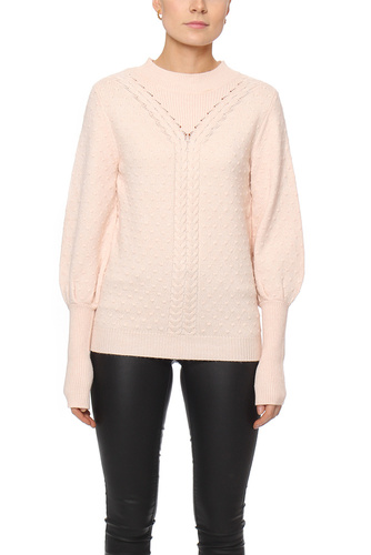 Vila VISINAI L/S KNIT TOP PEACH BLUSH