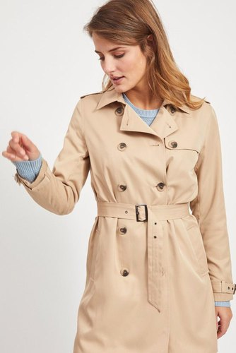 Vila Vimovement Trenchcoat/su Nomad