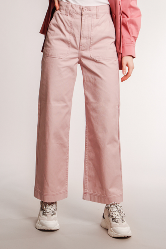 Dr. Denim Tuva Worker Pants Rose Quartz