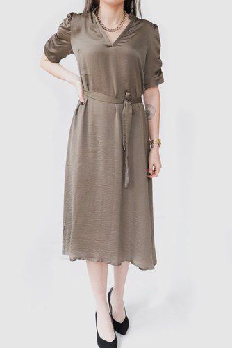 Neo Noir Epok Dress Army
