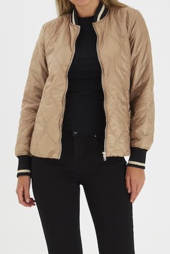 B.YOUNG Byberta Bomber Jacket Golden Sand