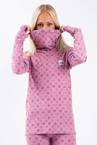 Eivy Icecold Top Monogram Dusty Rose