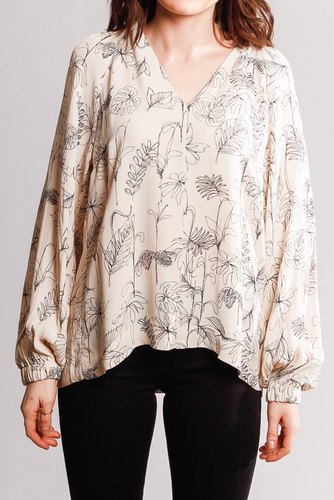 InWear Reanneiw Blouse Sketch Flowers