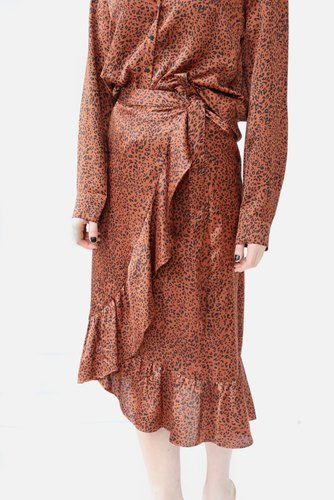 temp Mika New Leo Skirt Copper