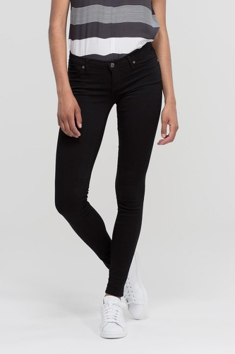 Dr. Denim Kissy Black