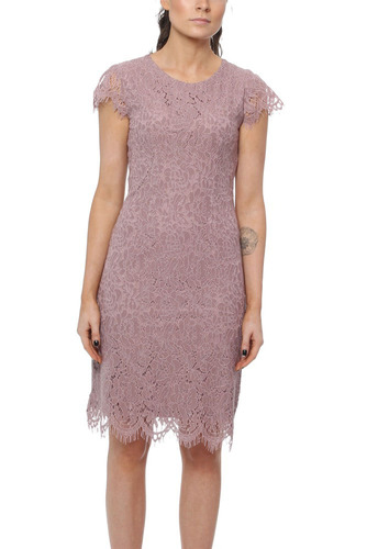 Dry Lake ELIANA DRESS MISTY ROSE