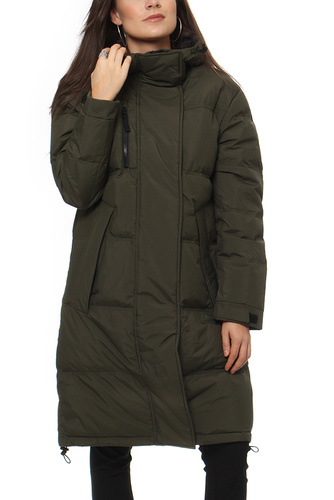 Selected Femme SFSISSY LONG DOWN COAT FORREST GREEN