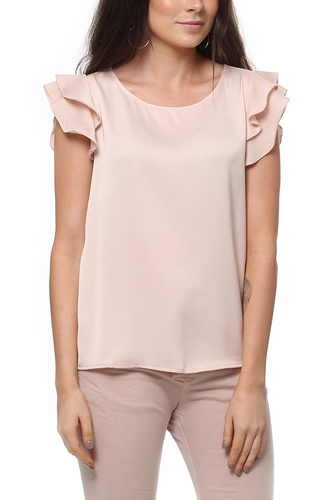 VIOCCASION FLOUNCE TOP PEACH WHIP
