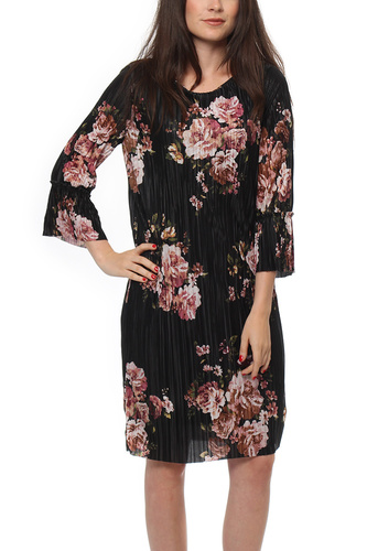 Vila VIBLOOMIA NEW 3/4 DRESS AOP FLOWER