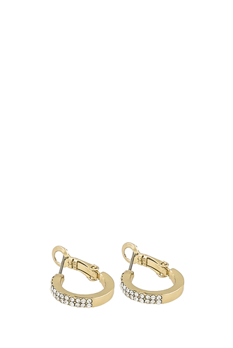 Alicia Small Ring Ear G/clear