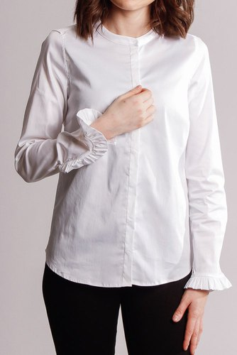 Mos Mosh Mattie Sustainable Shirt White