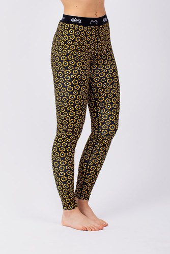 Eivy Icecold Tights Yellow Flower