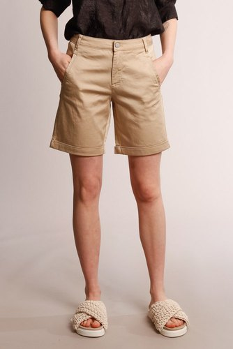 Vila Vichino New Shorts Rw Soft Camel