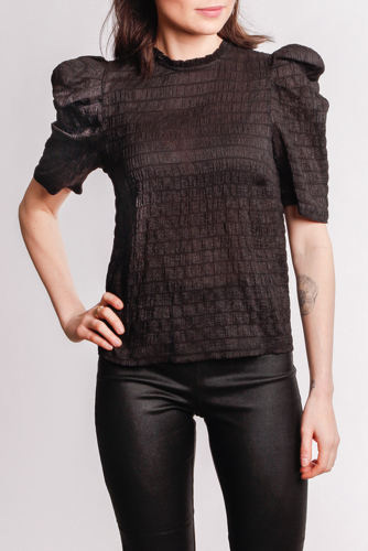 Neo Noir Hilde Top Black