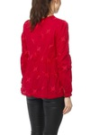 Odd Molly Sweet Symbol Blouse Garnet Red