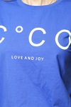 CO'COUTURE Coco Signature Tee X83 New Blue