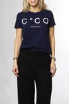 CO'COUTURE Coco Signature Tee X83 Navy