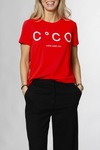 CO'COUTURE Coco Signature Tee X83 Rasberry