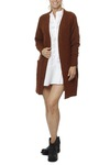 Selected Femme Sflivana Ls Knit Cardigan Tortoise Shell