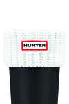 Hunter Half Cardigan Sock White
