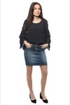 Please 6b Skirt Short New Usual Denim