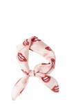 Re:designed Lips Scarf Red