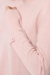 Odd Molly Warm And Vivid Hood Sweat Sheer Pink