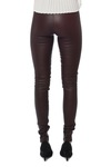 Selected Femme Sfsylvia Stretch Leather Chocolate