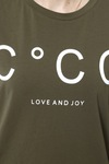 CO'COUTURE Coco Signature Tee X83 New Army