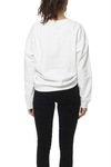 Selected Femme Slfhally Ls Sweat Bright White